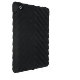 Gumdrop Drop Tech Series iPad(第2-4世代)レイヤーケース ブラック/ブラック