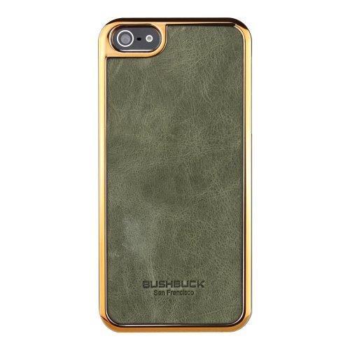 Bushbuck 【iPhone5用本革ケース】 Baronage レザーケース オリーブ IP5BEOL