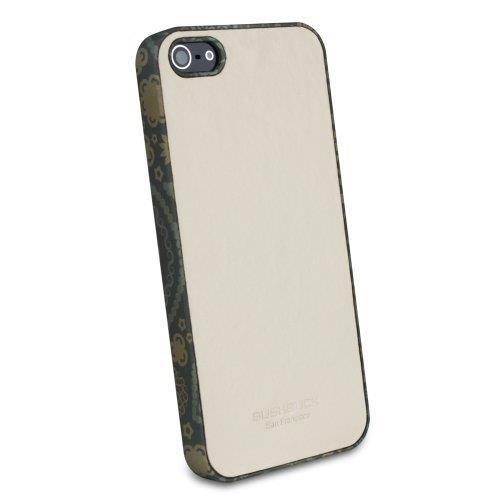 iPhone SE/5s/5 ケース Bushbuck 【iPhone5用本革ケース】 Jester シェニュインレザーケース ホワイト_0