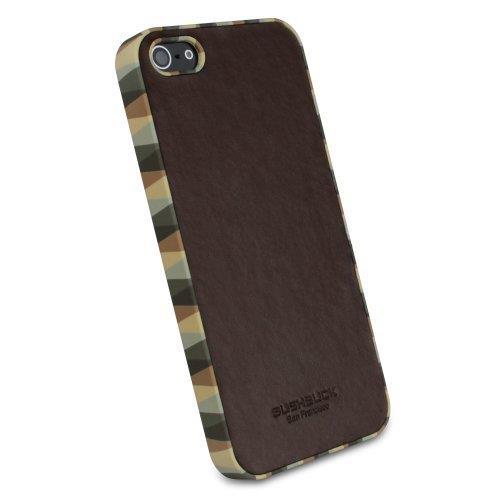 iPhone SE/5s/5 ケース Bushbuck 【iPhone5用本革ケース】 Jester  シェニュインレザーケース コーヒー_0
