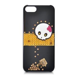 iPhone5s/5 スワロフスキー キュートなコルセアクリスタルケース 送料無料