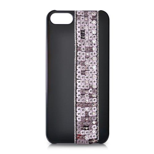 iPhone SE/5s/5 ケース iPhone SE/5s/5 スワロフスキー ビーズカーテンクリスタルケース_0
