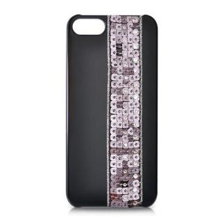 iPhone SE/5s/5 スワロフスキー ビーズカーテンクリスタルケース