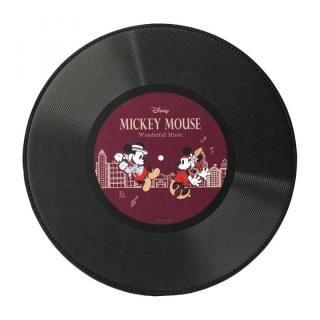 マウスパッド ミッキーマウス/ワインレッド