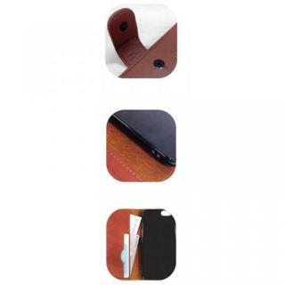 【iPhone6ケース】ピーナッツ 手帳型PUレザーケース ブラック iPhone 6 スヌーピー&ウッドストック_3