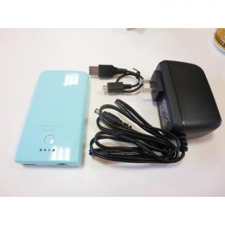 [1450mAh] 10分で急速充電できるモバイルバッテリー MACH1450UC-BL ブルー