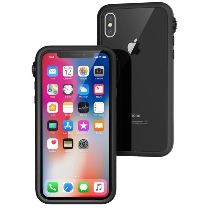 iPhone X ケース Catalyst(カタリスト) 衝撃吸収ケース ブラック iPhone X_0
