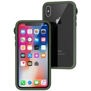 iPhone X ケース Catalyst(カタリスト) 衝撃吸収ケース アーミーグリーンブラック iPhone X【7月中旬】
