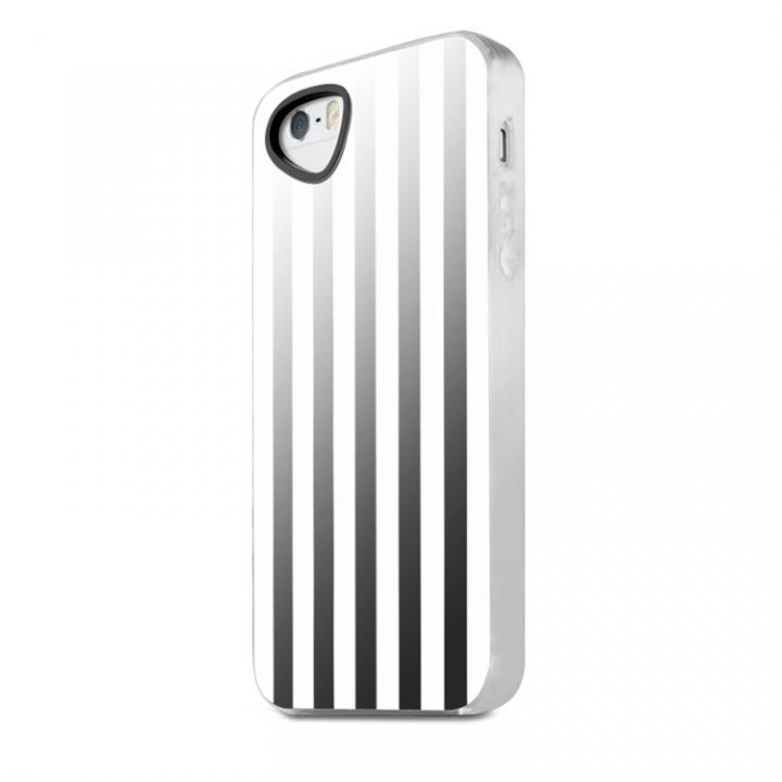 【iPhone SE/5s/5ケース】Killer Chic iPhone SE/5s/5 ホワイトストライプ01_0