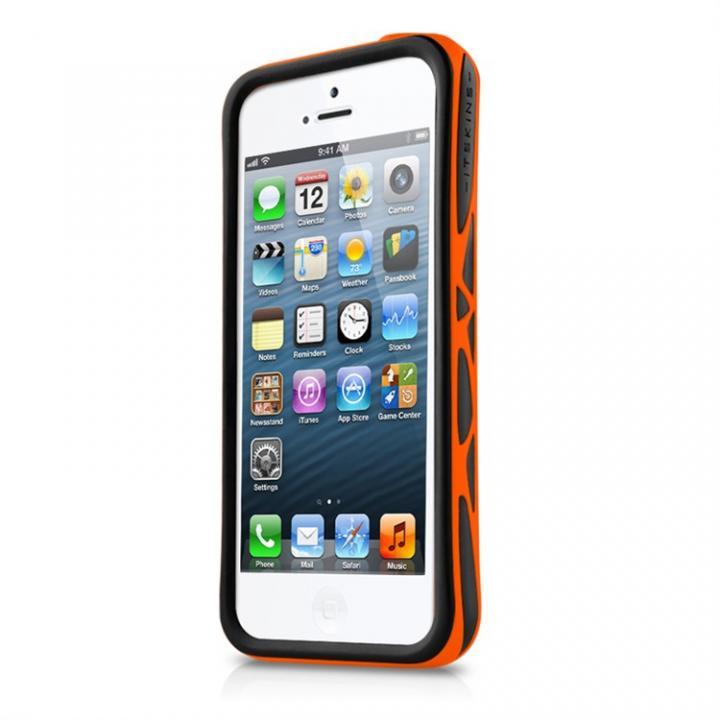 【iPhone SE/5s/5ケース】Venum ブラック/オレンジ iPhone SE/5s/5ケース_0