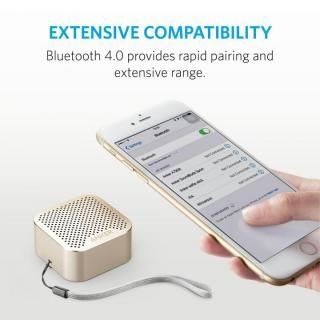 Anker SoundCore nano 超コンパクト Bluetoothスピーカー ゴールド_3