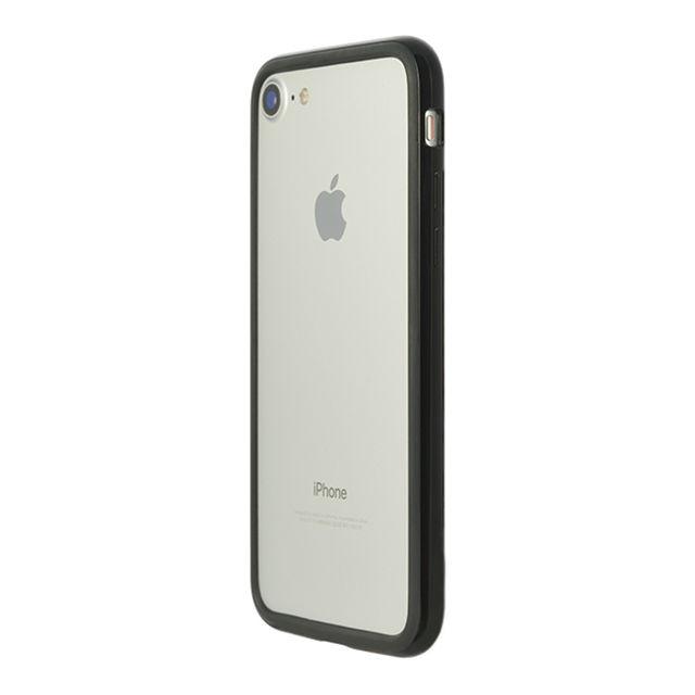 パワーサポート Arc bumper ピアノブラック iPhone 8/7