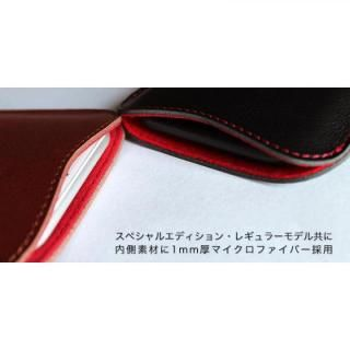 【iPhone7 Plusケース】職人が作るレザースリーブ ブラック iPhone 7 Plus_2