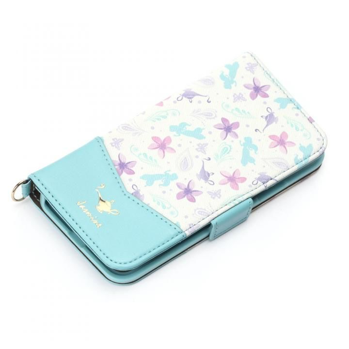 【iPhone XS/Xケース】ディズニー 手帳型ケース ジャスミン iPhone XS/X_0