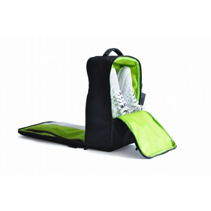 多機能バッグ「Quiver」 ブラック/グリーン