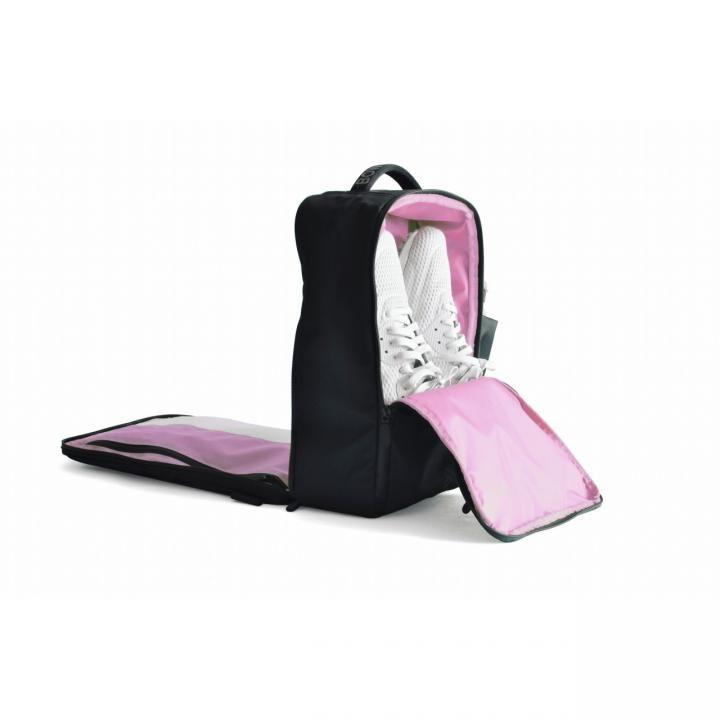 多機能バッグ「Quiver」 ブラック/ピンク_0