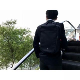 多機能バッグ「Quiver」 ブラック/ピンク_11