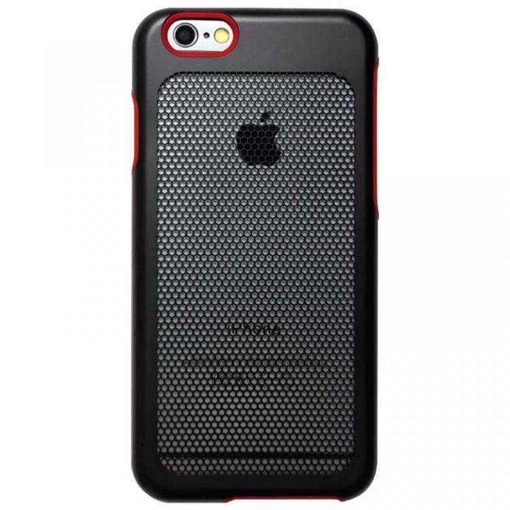 【iPhone6ケース】ステンレスメッシュケース ブラック iPhone 6s/6_0