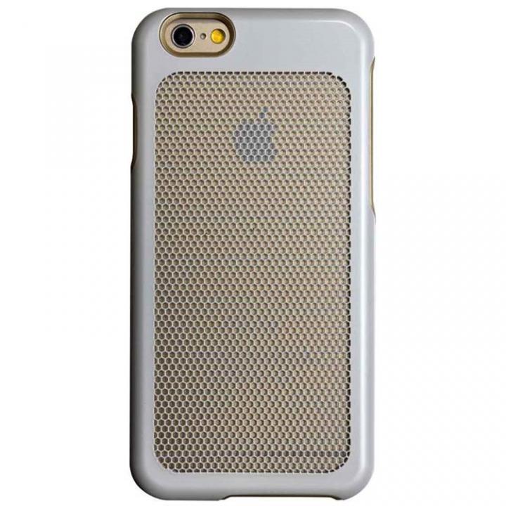 iPhone6 ケース ステンレスメッシュケース ホワイト iPhone 6_0
