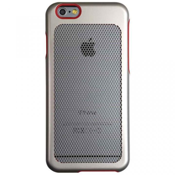 【iPhone6ケース】ステンレスメッシュケース シルバー iPhone 6s/6_0