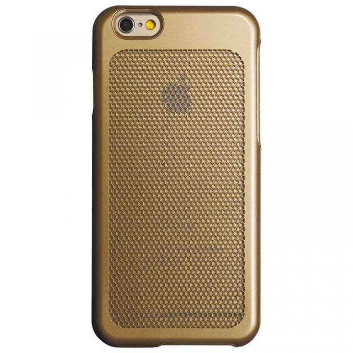 iPhone6 ケース ステンレスメッシュケース ゴールド iPhone 6_0