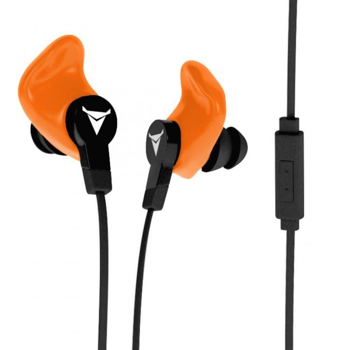 自分の耳専用 カスタムイヤホン DECIBULLZ オレンジ_0