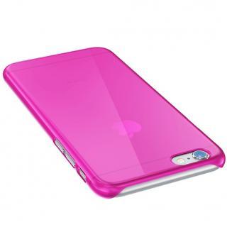 【iPhone6ケース】ウルトラスリム 0.5mm クリアハードケース ピンク iPhone 6_2