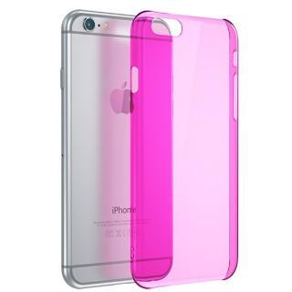 【iPhone6ケース】ウルトラスリム 0.5mm クリアハードケース ピンク iPhone 6_4