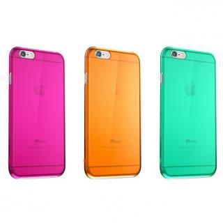 【iPhone6ケース】ウルトラスリム 0.5mm クリアハードケース ピンク iPhone 6_5