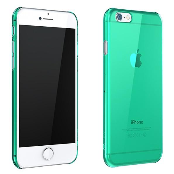 iPhone6 ケース ウルトラスリム 0.5mm クリアハードケース グリーン iPhone 6_0
