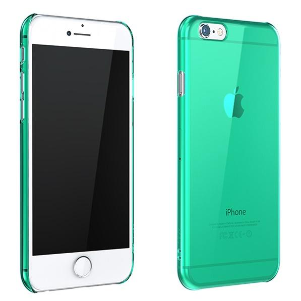 ウルトラスリム 0.5mm クリアハードケース グリーン iPhone 6 Plus