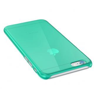 【iPhone6 Plusケース】ウルトラスリム 0.5mm クリアハードケース グリーン iPhone 6 Plus_1