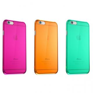 【iPhone6 Plusケース】ウルトラスリム 0.5mm クリアハードケース グリーン iPhone 6 Plus_5