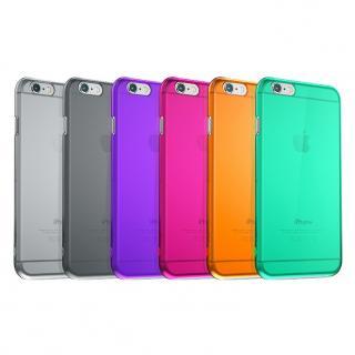 【iPhone6 Plusケース】ウルトラスリム 0.5mm クリアハードケース グリーン iPhone 6 Plus_6