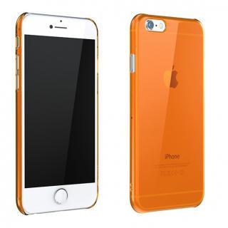 ウルトラスリム 0.5mm クリアハードケース オレンジ iPhone 6