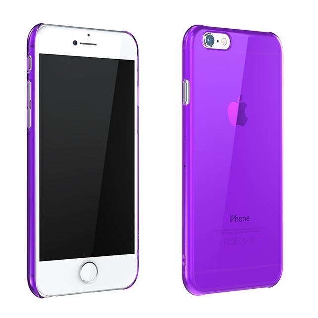 iPhone6 ケース ウルトラスリム 0.5mm クリアハードケース パープル iPhone 6_0