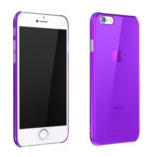 ウルトラスリム 0.5mm クリアハードケース パープル iPhone 6