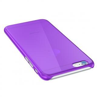 【iPhone6ケース】ウルトラスリム 0.5mm クリアハードケース パープル iPhone 6_1