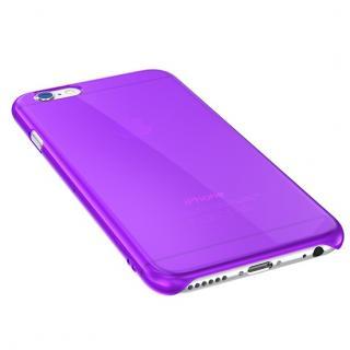 【iPhone6ケース】ウルトラスリム 0.5mm クリアハードケース パープル iPhone 6_2