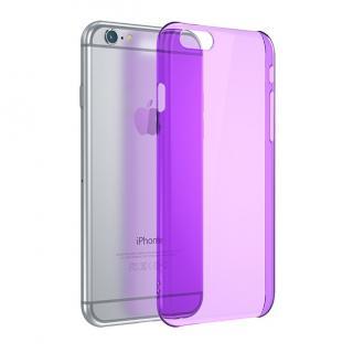 【iPhone6ケース】ウルトラスリム 0.5mm クリアハードケース パープル iPhone 6_4