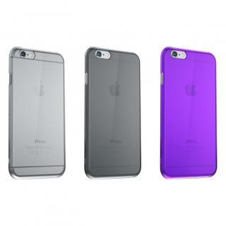 【iPhone6ケース】ウルトラスリム 0.5mm クリアハードケース パープル iPhone 6_5
