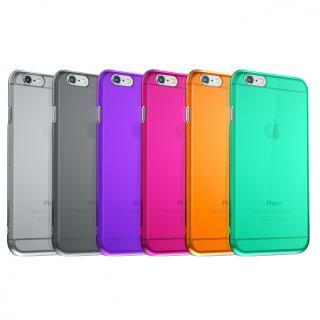 【iPhone6ケース】ウルトラスリム 0.5mm クリアハードケース パープル iPhone 6_6