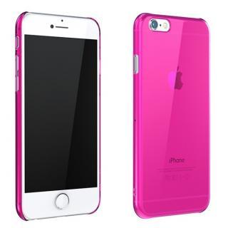 ウルトラスリム 0.5mm クリアハードケース ピンク iPhone 6 Plus