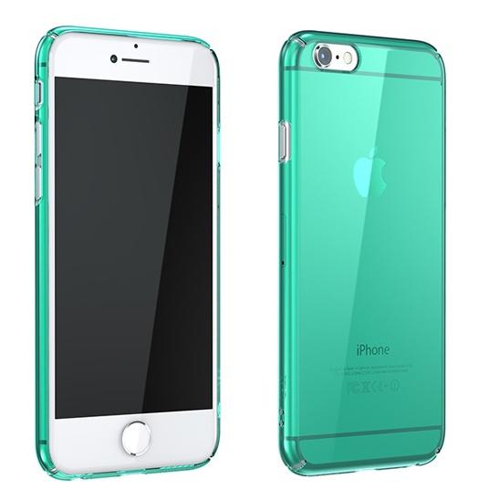 iPhone6 Plus ケース ウルトラスリムタフ 0.5mm クリアハードケース グリーン iPhone 6 Plus_0