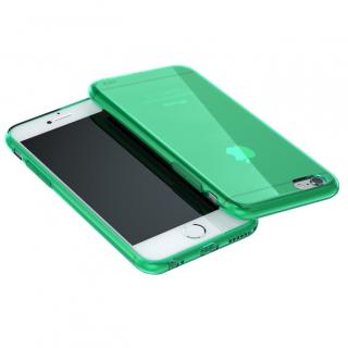 ウルトラスリム TPUクリアケース グリーン iPhone 6