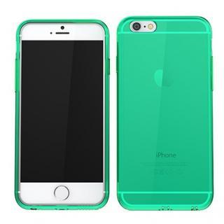 【iPhone6ケース】ウルトラスリム TPUクリアケース グリーン iPhone 6_1