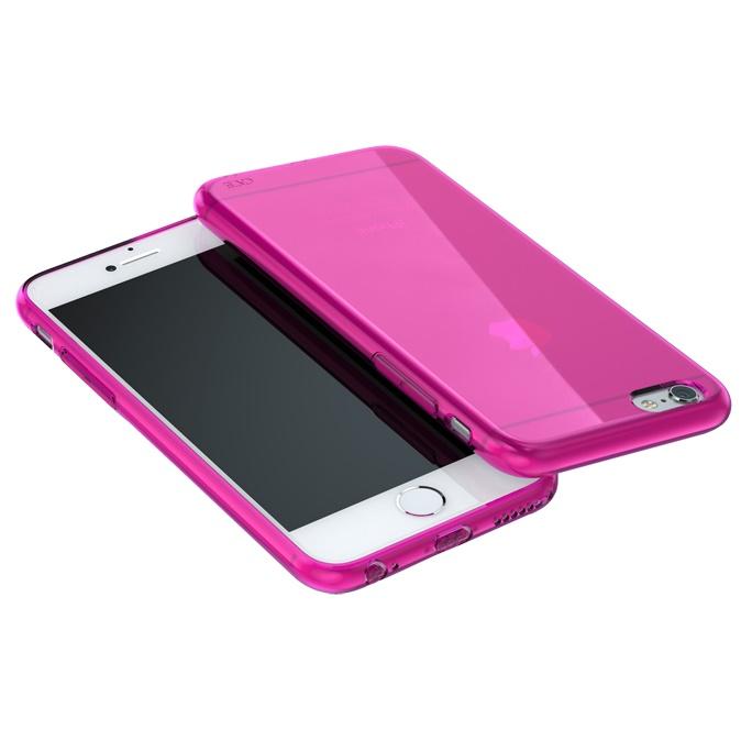 【iPhone6 Plusケース】ウルトラスリム TPUクリアケース ピンク iPhone 6 Plus_0