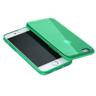 ウルトラスリム TPUクリアケース グリーン iPhone 6 Plus
