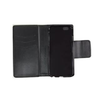 【iPhone6ケース】BLACK BY MOUSSY  ロゴ入り 手帳型ケース ブラック iPhone 6_1