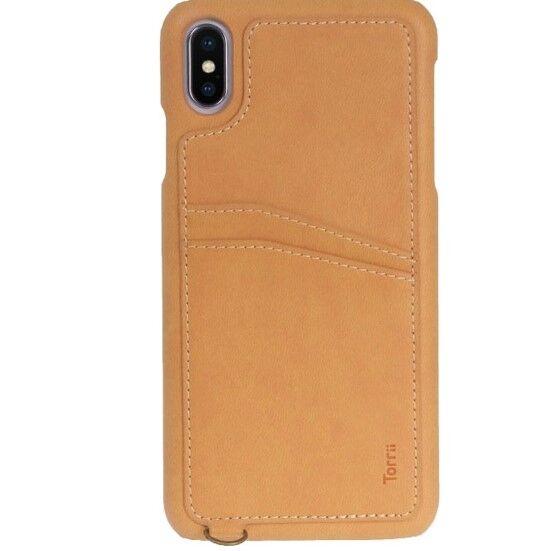 iPhone XS/X ケース Torrii  KOALA カードポケット付きケース ストラップ付き ブラウン iPhone XS/X_0